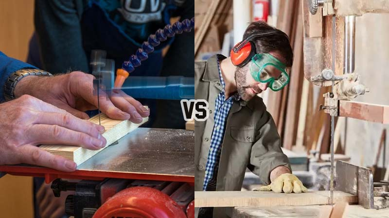Scroll Saw vs. Band Saw Which One Should You Have in Your Workshop