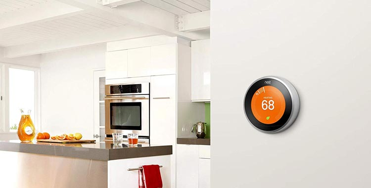 Google 3rd Generation Nest Learning Thermostat