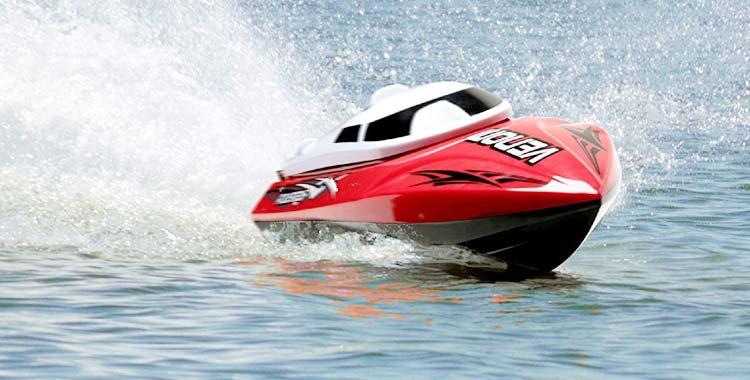 USA Toyz Remote Control Boat for Pools & Lakes – Udi001 Venom Fast RC Boat