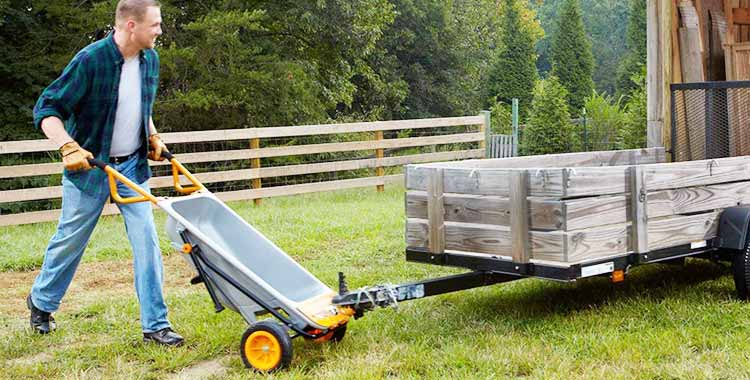 WORX WG050 Aerocart 8-in-1 All-Purpose Wheelbarrow