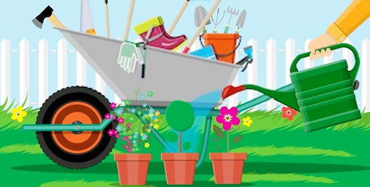 cheap garden cart